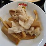 百味屋 - メンマと豚肉の冷菜