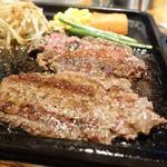 寛屋 - 2013年10月 和風おろし俵ハンバーグランチ(200g)相変わらずうまかったです!