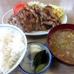 とんかつ山本 - 料理写真:生姜焼き定食!