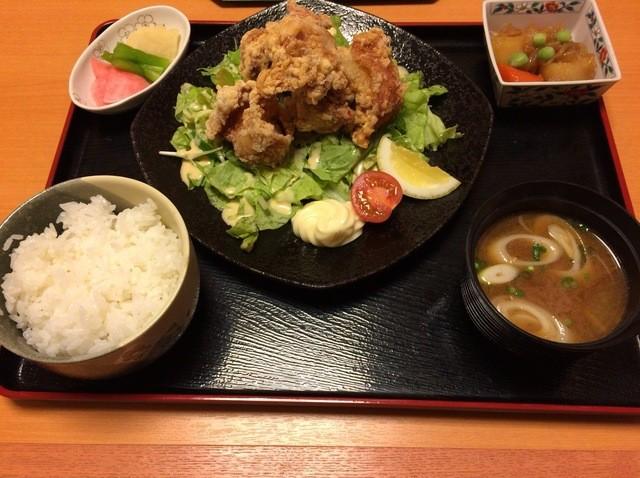ぐらん炭 - 或る日の唐揚げランチ(他ドリンク付)600円