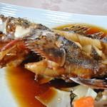 食事処マルタ活魚 - あらかぶ(カサゴ)のお煮付け
