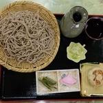 旅館ひらた - 料理写真:ざるそば(大盛り)…税込800円