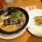Koganeya - サムライ味玉800円 ギョーザ3ケ220円
