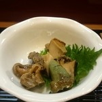 すし処 㐂秀 - 煮アワビ