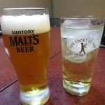 鯛よし百番 - 生ビールとチューハイ