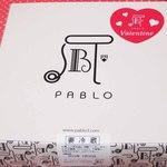 焼きたてチーズタルト専門店PABLO - バレンタイン限定、13日(金)・14日(土)2日間のみ販売の       チーズタルトなんだって。今年はチョコの代わりに、       このチーズタルトを買ってきてくれたそうです。ありがとう~♪
