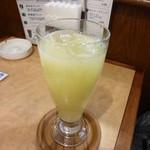 世田谷珈琲游 - グレープフルーツジュース