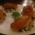 couscous Rougir - 牡蠣のパン粉焼き