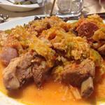 アルティスタ, - スペアリブとソーセージのトマト煮込み