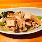 居酒屋たまゆら - 豚肉とチンゲン菜炒め