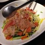 35245127 - 生ハムと季節の野菜のパスタサラダ(680円・別)