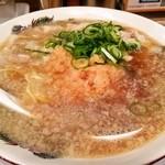 肉太郎 - 肉醤油ラーメン