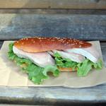 ブランジュリー パリの空の下 - 料理写真:豚フィレのスービット