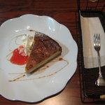 Koto Cafe - バナナチーズケーキ