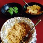 焼肉すみび屋 - 1380円ランチのデザート  抹茶生チョコアイス  わらび餅 はちみつバタートック