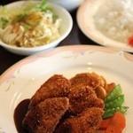 タムタム - 料理写真:ポークカツセット