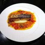 レゼールデカー - 瀬戸内海の鰆、じゃが芋のピュレ、プロバンサル