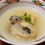 千松しま - 牡蠣のみぞれ仕立て(2015/01)