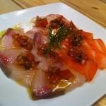 toto bar - 鮮魚のカルパッチョ