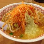 ラーメンめん丸 - 味噌ネギニンニク