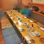 ヤマショウ - 宴会の小上がりの お席