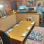 ヤマショウ - テーブル席&カウンター席