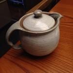 35256474 - 蕎麦湯は陶器で出て来ました