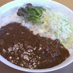 ベリー - カレーライス(大辛) 700円