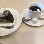 喫茶室ルノアール - ☆濃厚ガトーショコラ&ブレンド☆