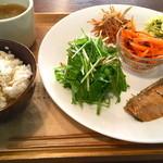 椎名町カフェ - ランチ。すべてが凄く美味しかったです!