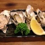 やきとり安兵衛 - 焼き牡蠣