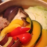 福の花 - 蒸し野菜のバーニャカウダ