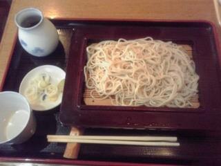 寿々喜屋 - もり蕎麦 510円(税込)(2015年2月21日撮影)