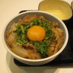 吉野家 - 「牛ねぎ玉丼」です。