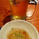 35260054 - ●ビールとお通し(2014.08)●