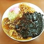 グリル中村屋 - ミックス丼(税込 800円)
