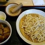 35262951 - 豚汁つけ麺♪