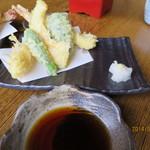 蕎麦 いけだ - 天ぷら