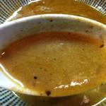 ○寅 麺屋 山本流 - スープ