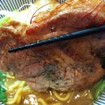 ○寅 麺屋 山本流 - 豚肉アップ
