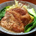 ○寅 麺屋 山本流 - 寅と龍(期間限定ラーメン)