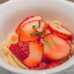 ダルマット - 季節の冷製フルーツパスタ【2015年2月】