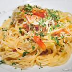 ダルマット - しらすととまとのスパゲティ【2015年2月】