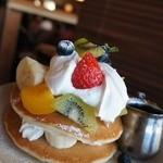 kawara CAFE&DINING - フルーツパンケーキ1490円