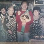 よし喫茶 - WBC世界Sフライ級王者川島がお店に♪