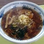 長沼スキー場 食堂 - 醤油ラーメン 600円