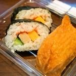 えきそば - 助六寿司
