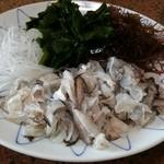 朝日屋 - 料理写真:カレイのぶつ切り小