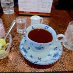 珈琲 タイムス - モーニング、紅茶でお願いしました