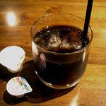 DINING APPAYAN - 「自家製ハンバーグ 和風ソース」アイスコーヒー